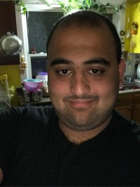 Zain Awan, 23, Racine, Ohio, USA