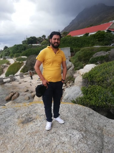 Javed, 34, Cape Town