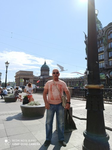 Pavel, 55, Saint Petersburg